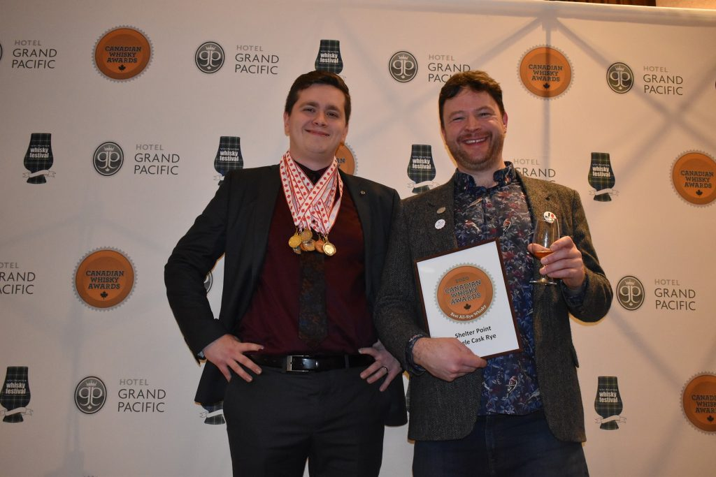 Shelter Point wins Best All Rye Whisky